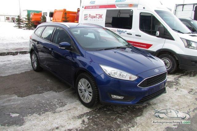 В Набережных Челнах показали газовый Ford Focus CNG