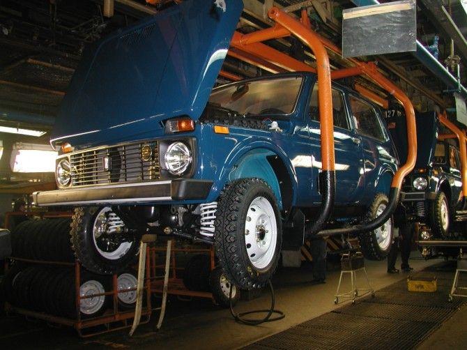АВТОВАЗ перенес сборку трехдверной LADA 4x4 на главный конвейер