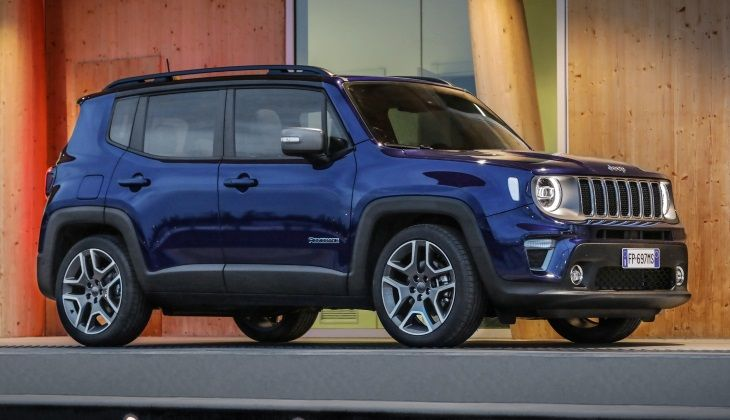 Jeep Renegade - подробности рестайлинга