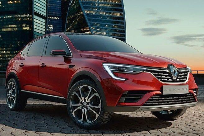 Отчего падает интерес к выходу купе-кроссовера Renault Arkana?