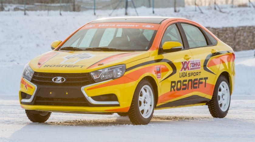 Объявлен состав пилотов на LADA Vesta в российских кольцевых гонках