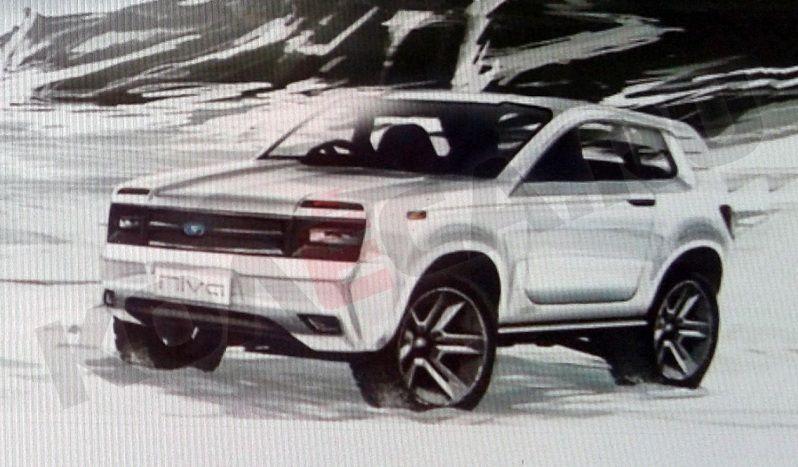 Официальный эскиз нового Lada 4х4