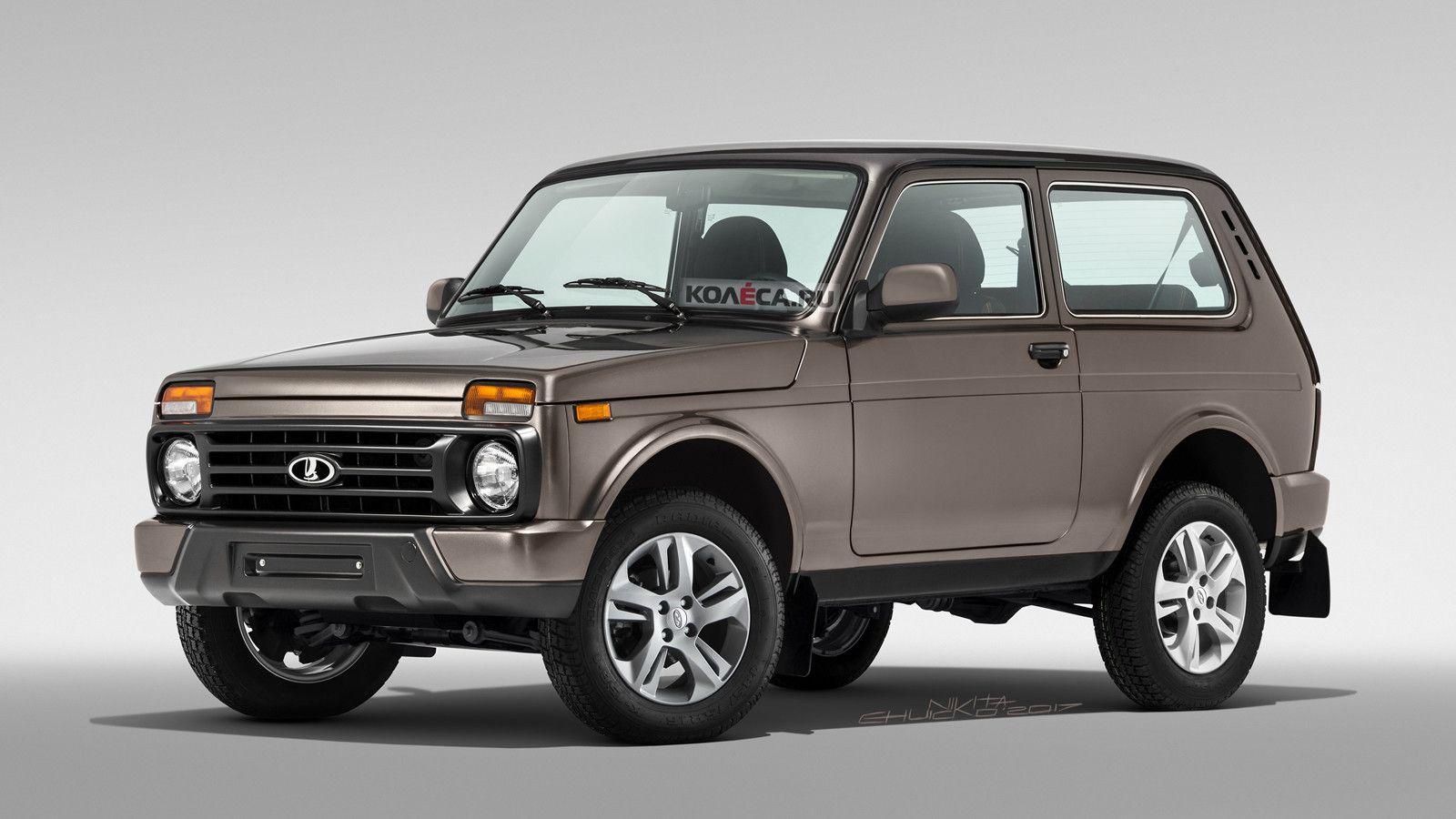 Обновлённая Lada 4×4 Urban: какой она может быть
