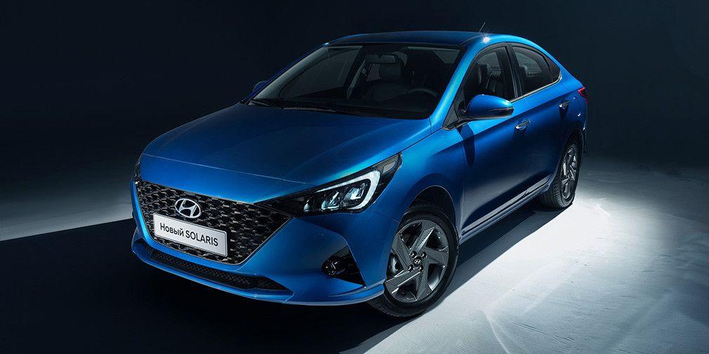 Двухмиллионный питерский Hyundai - новый Solaris