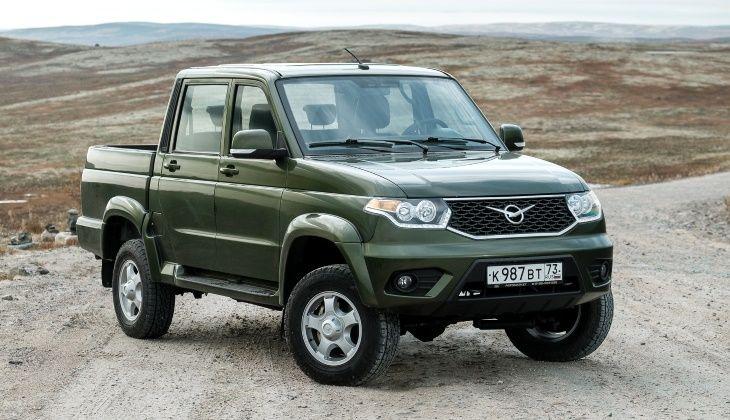 Бюджетные версии пикапа УАЗ получили опции комфорта