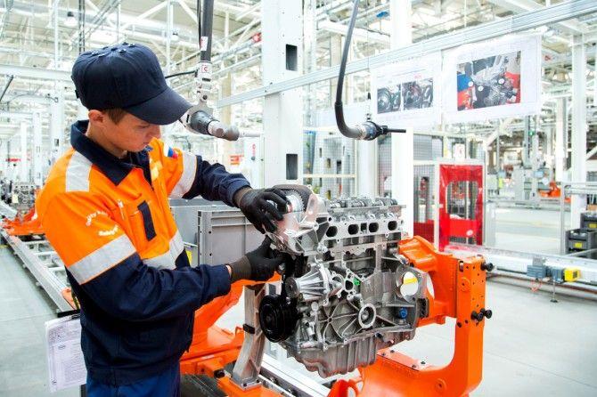 Локализация двигателя Ford на российском заводе - 78%