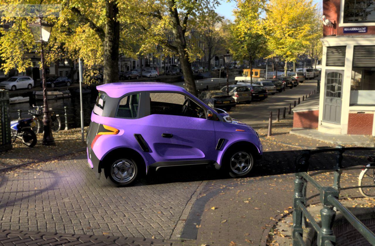 В Тольятти готовится производство первого в мире электромобиля  на мотор-колесах