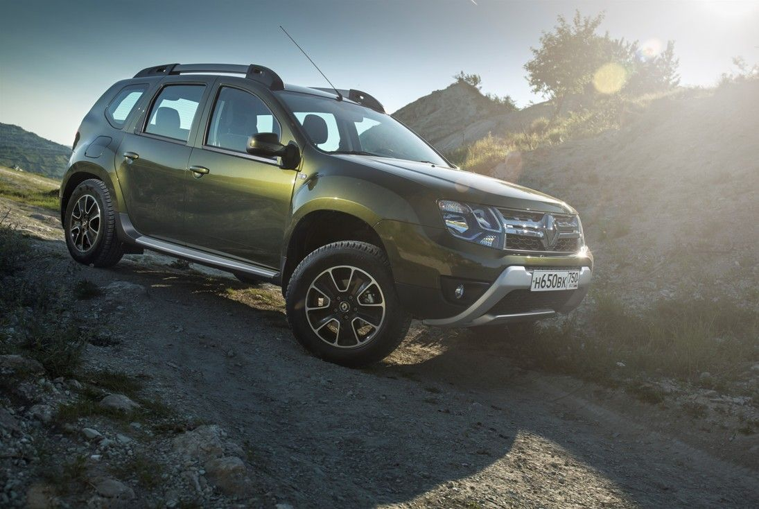 renault duster 2wd тест