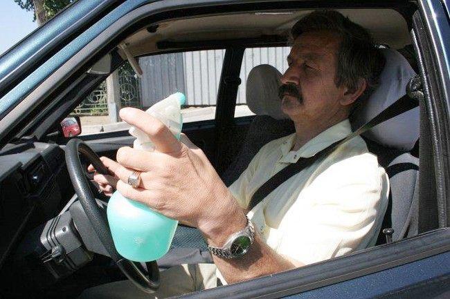 Езда в жару без кондиционера: как спастись?