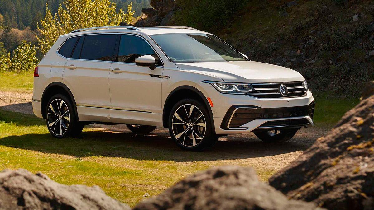 Volkswagen рассекретил обновленный семиместный кроссовер Tiguan Allspace